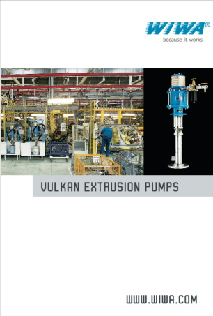 Vulkan extrusion pumps